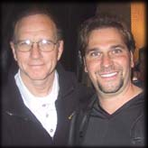 photo of Dan Gable with James